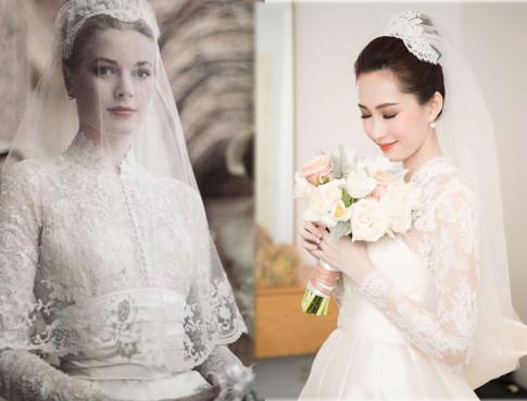 Váy cưới của Thu Thảo