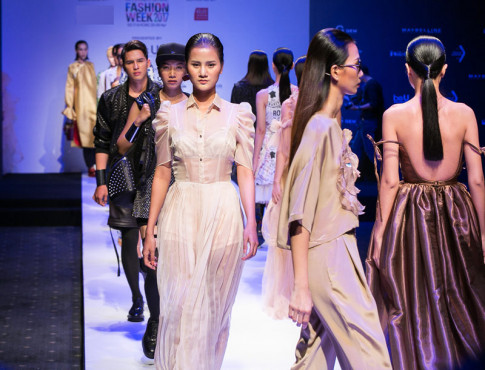 Vietnam International Fashion Week da tro lai va loi hai hon xua