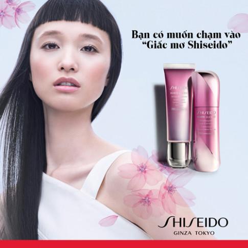 Với Shiseido, mỗi cô gái là một nàng thơ!
