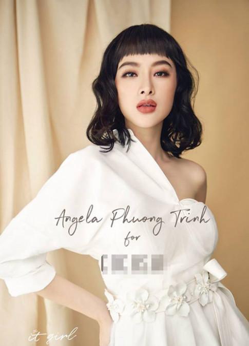Het thoi bi nem da vi phan cam, Angela Phuong Trinh gio da lot xac ngoan muc