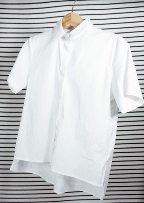 4 cách mix áo sơ mi trắng hợp với mọi vóc dáng