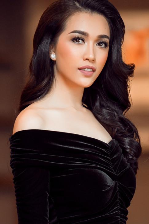 Á hậu Lệ Hằng bất ngờ đổi style chuẩn bị cho Miss Universe 2016