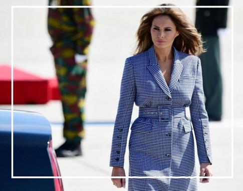 Bí ẩn thời trang hút triệu lượt view của Đệ nhất Phu nhân Mỹ Melania Trump