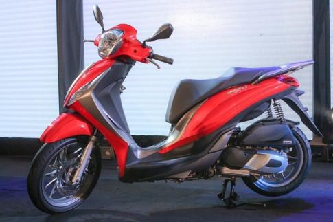 Doanh so ban Honda SH gap hon 30 lan Piaggio Medley