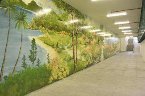 Đường Hầm Thông Biển Tại Nha Trang