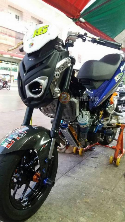 Exciter 150 do doc voi phong cach Minibike