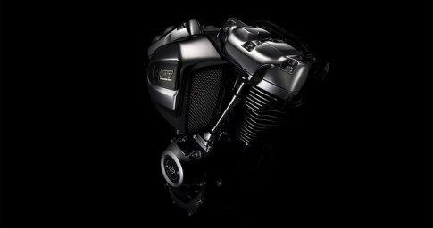 Harley-Davidson ra mắt động cơ khủng với tên gọi Milwaukee-Eight Big Twin