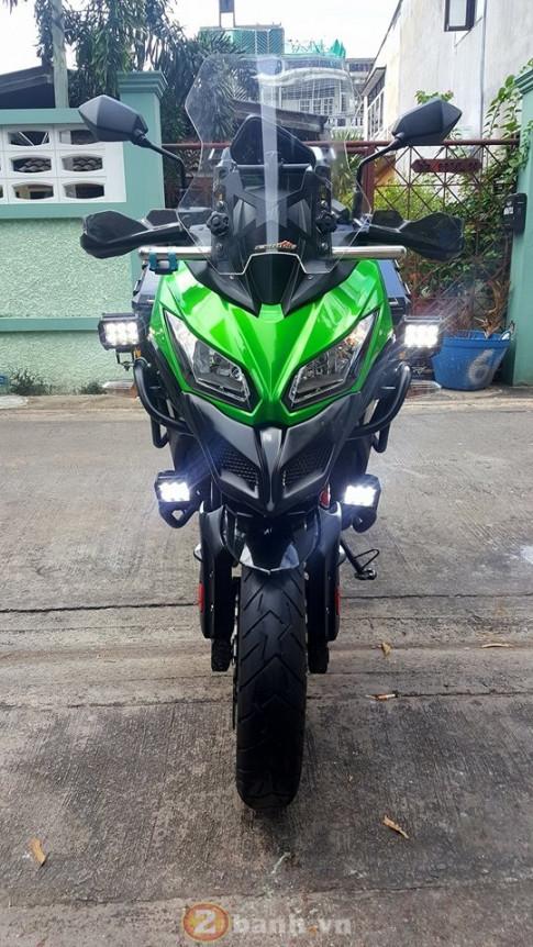 Kawasaki Versys dong hanh cung phuot thu