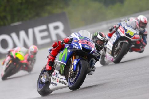 MotoGP: Việc lựa chọn lốp xe rất quan trọng trong điều kiện đường đua ướt