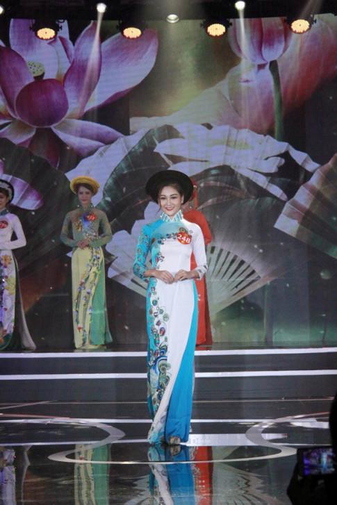 Người đẹp Hải Phòng đăng quang Hoa khôi Phụ nữ Việt Nam qua ảnh 2017
