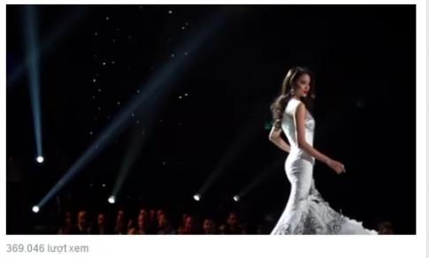 Phạm Hương xuất hiện đầy khí chất trong trailer Miss Universe 2016