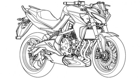 Tân binh naked bike mới của Kymco đang được phát triển