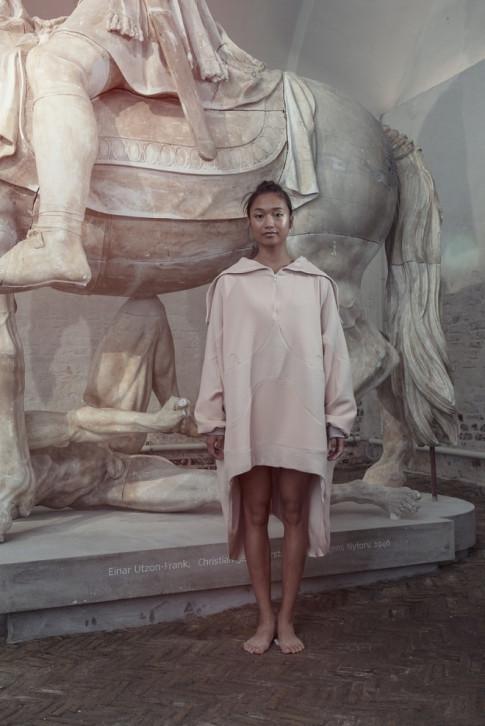 Tuần lễ thời trang Đan Mạch gây sốc với dàn mẫu nude