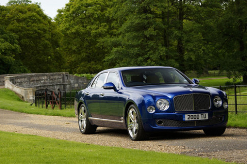 Anh Bentley Mulsanne