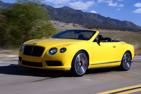 Anh chi tiet Bentley Continental GT V8 S 2014