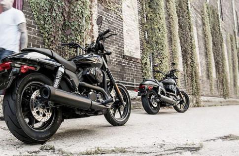 Anh chi tiet Harley-Davidson Street 500 va 750
