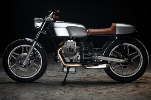 Anh chi tiet Moto Guzzi V50 cafe racer