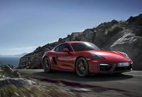 Anh Porsche Cayman GTS va Boxster GTS