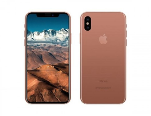 Apple chuan bi tung ra phien ban mau 'blush gold' cho Iphone X.