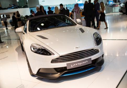Aston Martin o Dubai Motor Show 2013