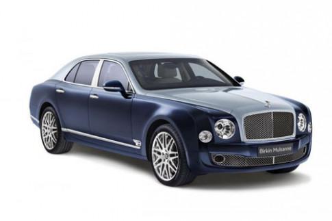 Bentley Mulsanne Birkin - ton vinh tay dua huyen thoai