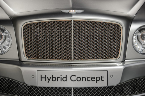 Bentley Mulsanne plug-in hybrid concept