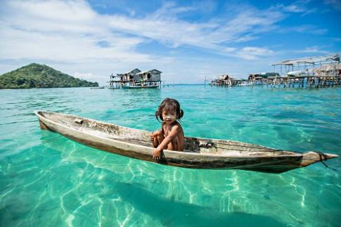 Bộ tộc 'người cá' ở Malaysia