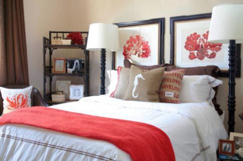 Dọn nhà đón thu cùng sắc đỏ san hô