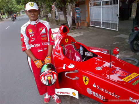 Ferrari F1 tự chế