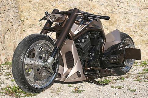Harley Davidson V-Rod X - 'quai vat' xau xi
