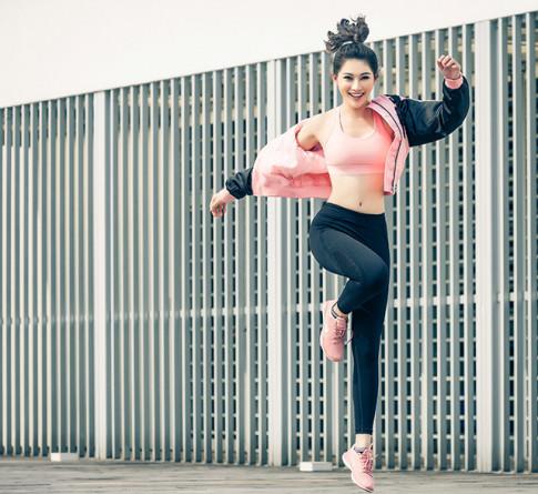 Học cách Quỳnh Châu lựa chọn trang phục đi tập Gym