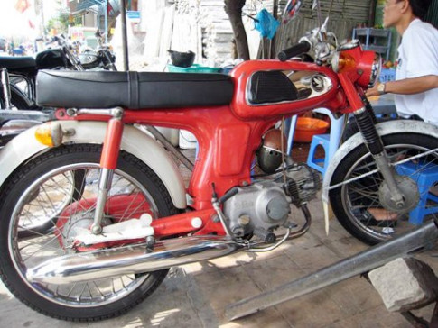"""Honda 67 """"zin"""" o Long Xuyen"""