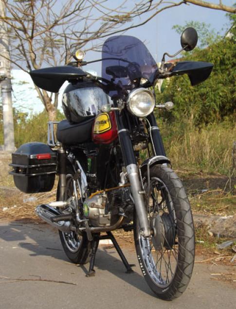 Honda 72 phong cach touring