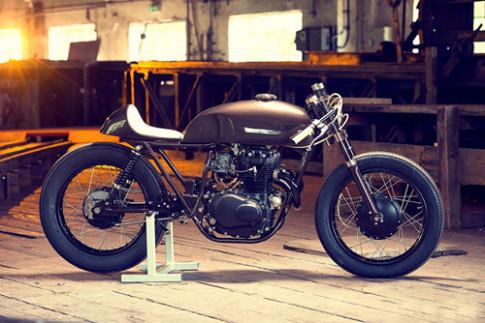 Honda CB mang huong vi cafe