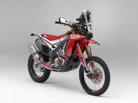 Honda CRF450 Rally - quay lai Dakar