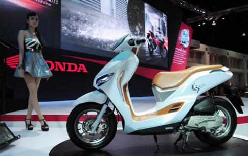 Honda ES01 - concept scooter la mat