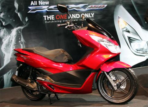 Honda trinh lang PCX150 moi o Thai Lan