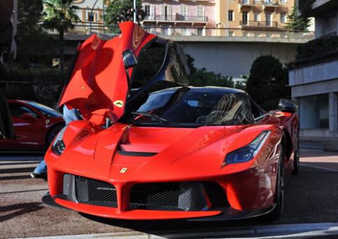 LaFerrari khong nguy trang tai Monaco