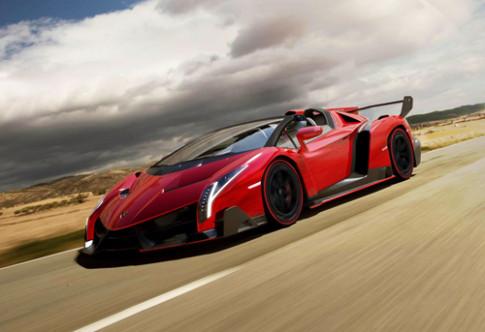 Lamborghini Veneno Roadster lo dien