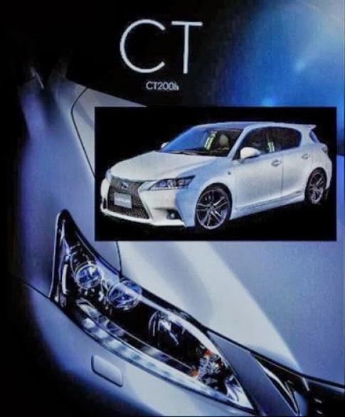 Lexus CT200h ban nang cap lo dien