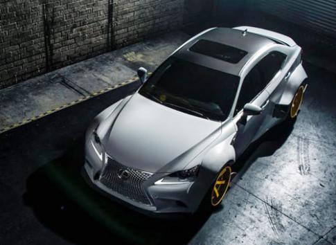 Lexus IS 350 F Sport tai trien lam SEMA