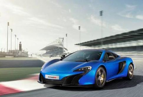 Lo anh McLaren 650S