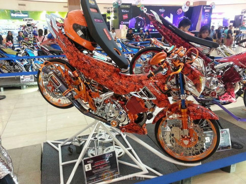 Loạt ảnh Suzuki Raider độ thi xe đẹp tại Philippines