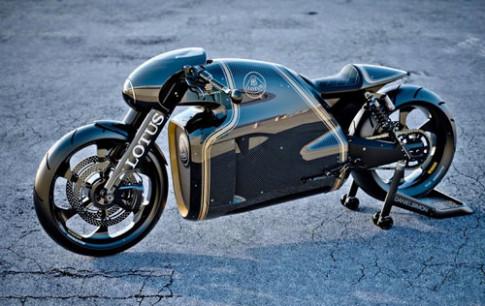 Lotus C-01 - sieu moto cong nghe cao