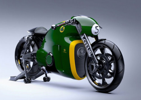 Lotus Motorcycle C-01 - sieu moto cong nghe cao
