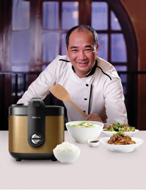 "Masterchef Pham Tuan Hai: ""Noi com dien quyet dinh den 90% chat luong com"""