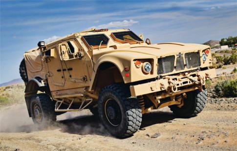 Oshkosh M-ATV – xe dac chung gia nua trieu do