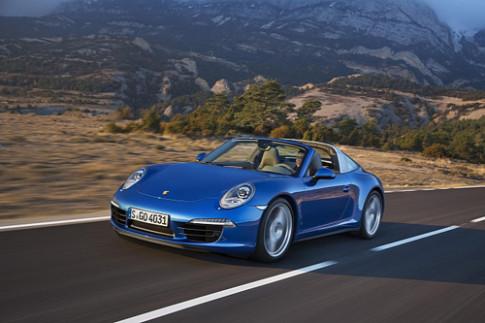 Porsche 911 Targa chinh thuc ra mat