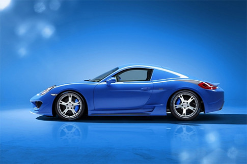 Porsche Cayman S Moncenisio