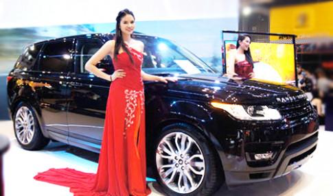 Range Rover 'dat hang' tai Vietnam Motor Show 2013